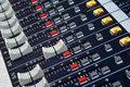 Free Sound Mixer Faders Stock Photography - 4458792