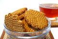 Free Cookies  And  Cup Of Tea Stock Image - 4458821