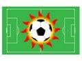 Free Football Sun Royalty Free Stock Image - 4458986