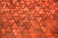 Free Brick Pavement Stock Photos - 4450003