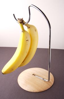 Free Bananas On A Stand Stock Images - 4450154