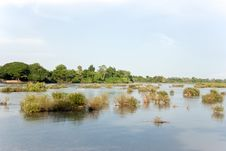 Free Mekong River View Royalty Free Stock Images - 4450309