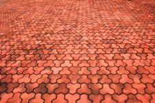 Free Brick Pavement Royalty Free Stock Photos - 4450548
