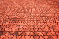 Free Brick Pavement Royalty Free Stock Photos - 4450548