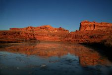 Free Colorado River Reflections Stock Images - 4450574