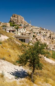 Free Uchisar In Cappadocia, Turkey Royalty Free Stock Image - 4450716