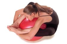 Free Exercise Ball Rollout Stock Images - 4451204