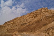 Free Small Crater In Negev Desert Stock Photo - 4451450