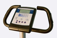 Free Handles Of A Training Bike Stock Photo - 4451790