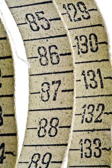 Free Old Measuring Tape Stock Photo - 4452420