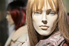 Mannequin Woman Royalty Free Stock Photo