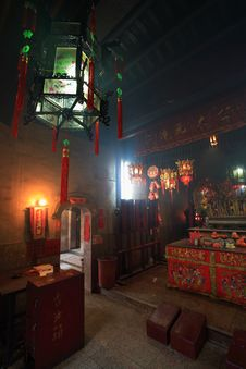 Free Che Kung Temple At Ho Chung Stock Image - 4452431