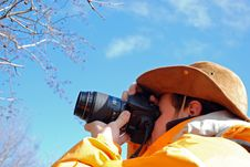 Free Outdoor Photographer Stock Photography - 4452562
