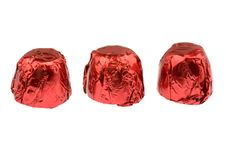 Free Three Chocolates Royalty Free Stock Image - 4452716