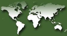 Free World Map VII Stock Image - 4453061