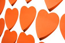 Free Sticky Hearts Royalty Free Stock Photos - 4453518