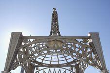 Hollywood Tower Landmark Stock Photo