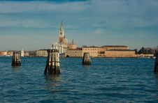 Free Beautiful View Of Venice With Canal, Buildings Royalty Free Stock Photos - 4454098