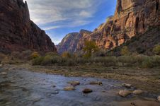 Free Zion Canyon Royalty Free Stock Photography - 4454647