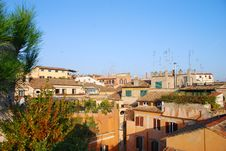 Free Rooftops Of Rome Royalty Free Stock Photography - 4455467