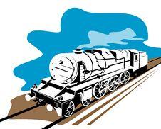 Free Train Steam Engine Royalty Free Stock Photo - 4455675