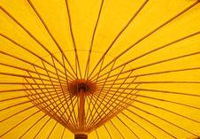 Free Yellow Parasol Stock Photos - 4456113