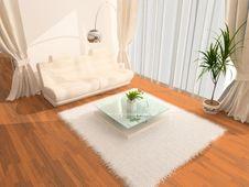 Free Modern Interior Royalty Free Stock Photography - 4456127
