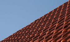 Free Roof Tiles Royalty Free Stock Photo - 4456655