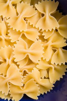 Free Italian Pasta Farfalle Royalty Free Stock Photos - 4457328