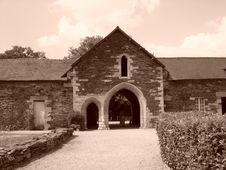 Free Abbey Of Notre-Dame-de-Bon-Repos (France) Royalty Free Stock Photo - 4457385