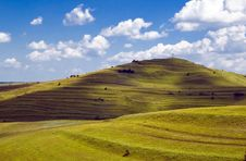Free Background Natural Landscape With Green And Sky Stock Images - 4457714