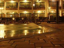 Free Swimming Pool At Night Royalty Free Stock Photos - 4457908