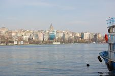 Free Galata And Golden Horn Stock Photo - 4458220
