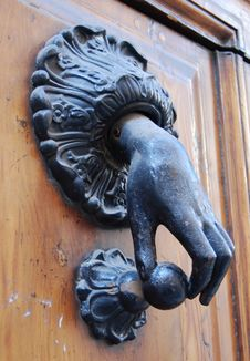 A Doorknocker Stock Images