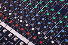 Free Sound Mixer Console Stock Photography - 4458692
