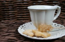 Free Biscuits And Sugar Crystal Royalty Free Stock Photos - 4459048