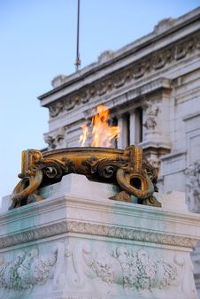 Free Eternal Flame In Rome Stock Photos - 4459643