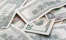 Free American Dollar Bills Royalty Free Stock Image - 4459766