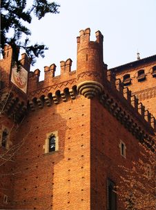 Free Ancient Italian Castle Stock Images - 4459874