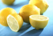 Free Lemons Royalty Free Stock Photography - 4459907