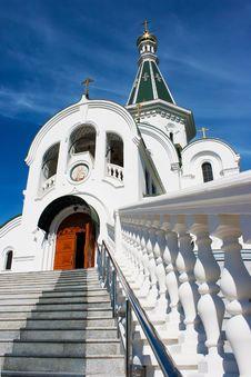 Free Church Of St. Alexander Nevsky Royalty Free Stock Photography - 44557817