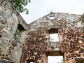 Free Inside A Ruined Church Royalty Free Stock Image - 4464446