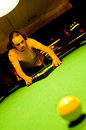 Free Pool Player Royalty Free Stock Photography - 4469447