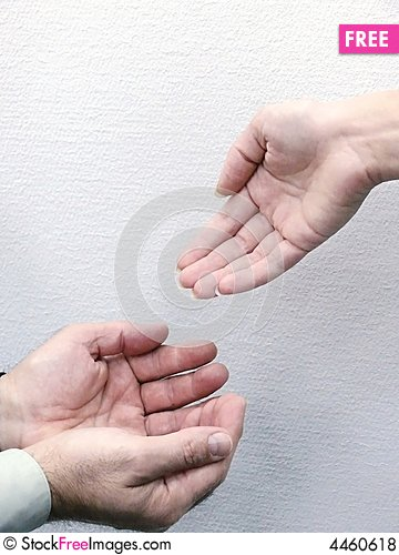 Free Hands Of People. Movement. Royalty Free Stock Photos - 4460618