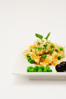 Pilau With Vegetables. Stock Image