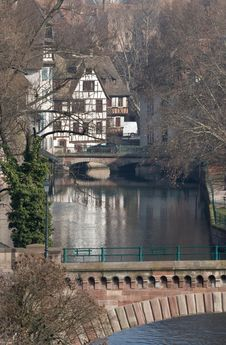 Free Strasbourg Canals And Bridges Stock Photos - 4460333
