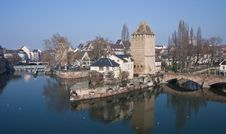 Free Strasbourg Confluence Royalty Free Stock Images - 4460339