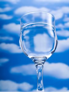 Free Glass Of Water Royalty Free Stock Photo - 4460695