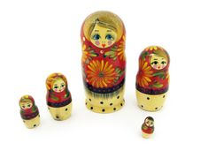 Free Russian Dolls Royalty Free Stock Photo - 4460755