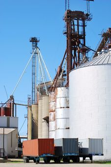 Free Grain Works Stock Photography - 4461892